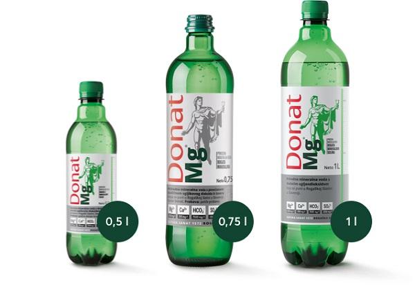 Mineralna voda Donat Mg
